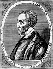Cardan (Pavie, 1501-Rome, 1576)