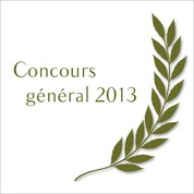 concours general 2013